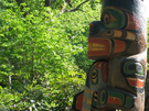 Totem Pole, 26 ft, John Livingston