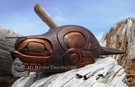 Sea Lion Dance Rattle, Darrell LeBlanc