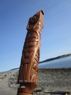 Haida Talking Stick, Donavon Gates