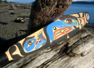 First Nations paddle
