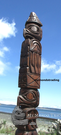 Eagle Totem, Harry Williams Sr.