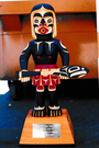 6) Tsonoqwa, Trophy Totem, Woman's International Rowing Race, John Livingston