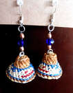 Whale Hat earrings, Julia Joseph