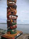 Totem Pole by Linda Williams