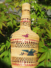 Nootka Basket woven bottle