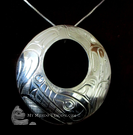 Wolf, Norman Seaweed, sterling silver