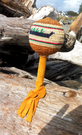 Dance Rattle, cedar bark weaving, Sheryl Tate
