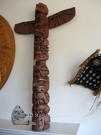 "35"" Totem Pole, Williams, Nootka"