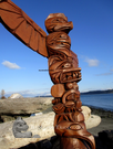 Williams Totem Pole, 35""