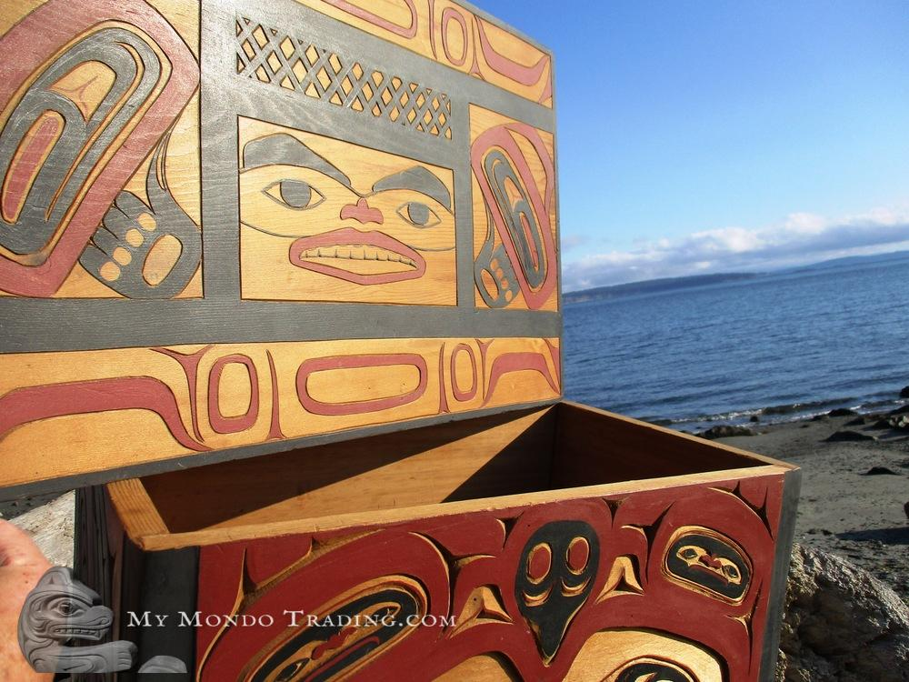 Large Tlingit Box by Wayne Carlick