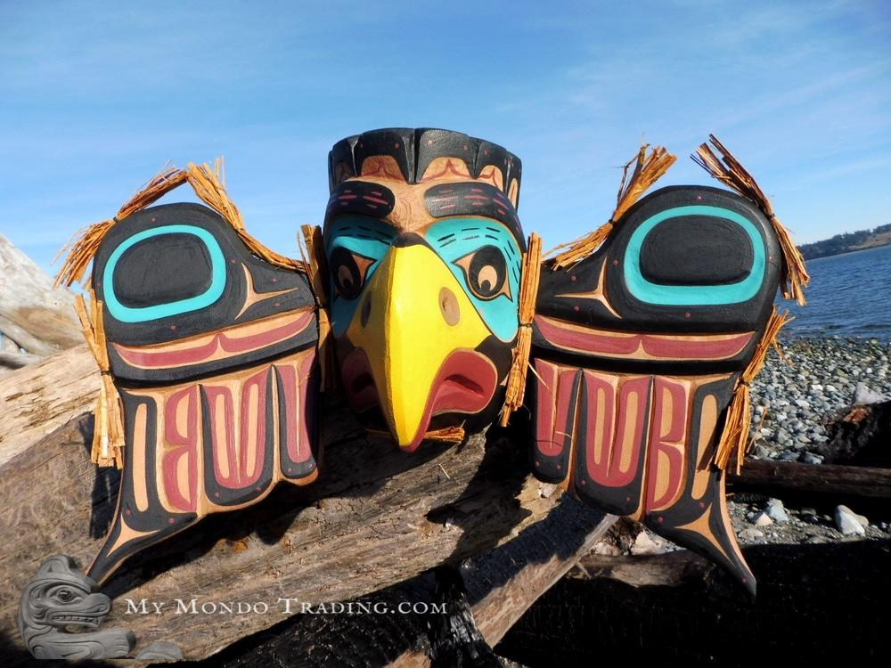 "25"" Eagle Mask by David Mungo Knox"
