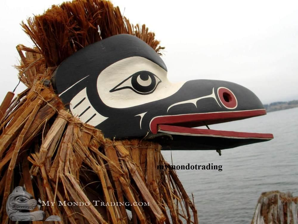 Articulated Raven Mask, David Mungo Knox
