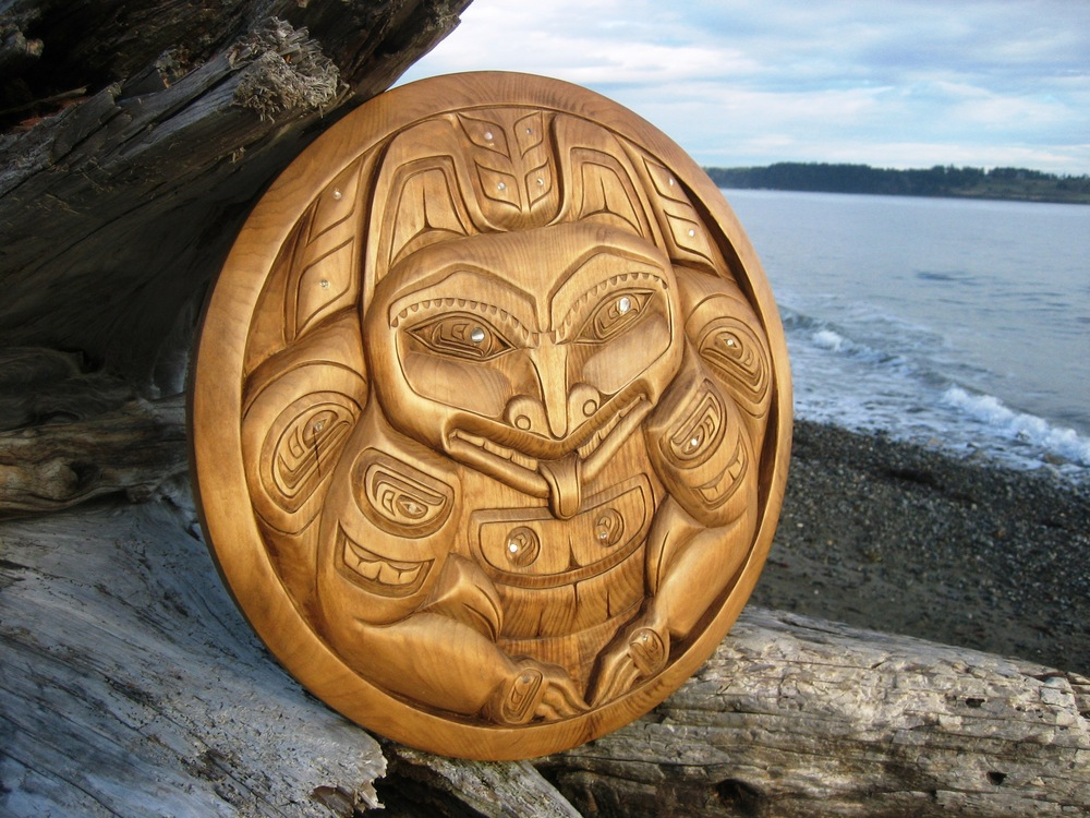 Grizzly Bear by Haida Artist Donavon Gates