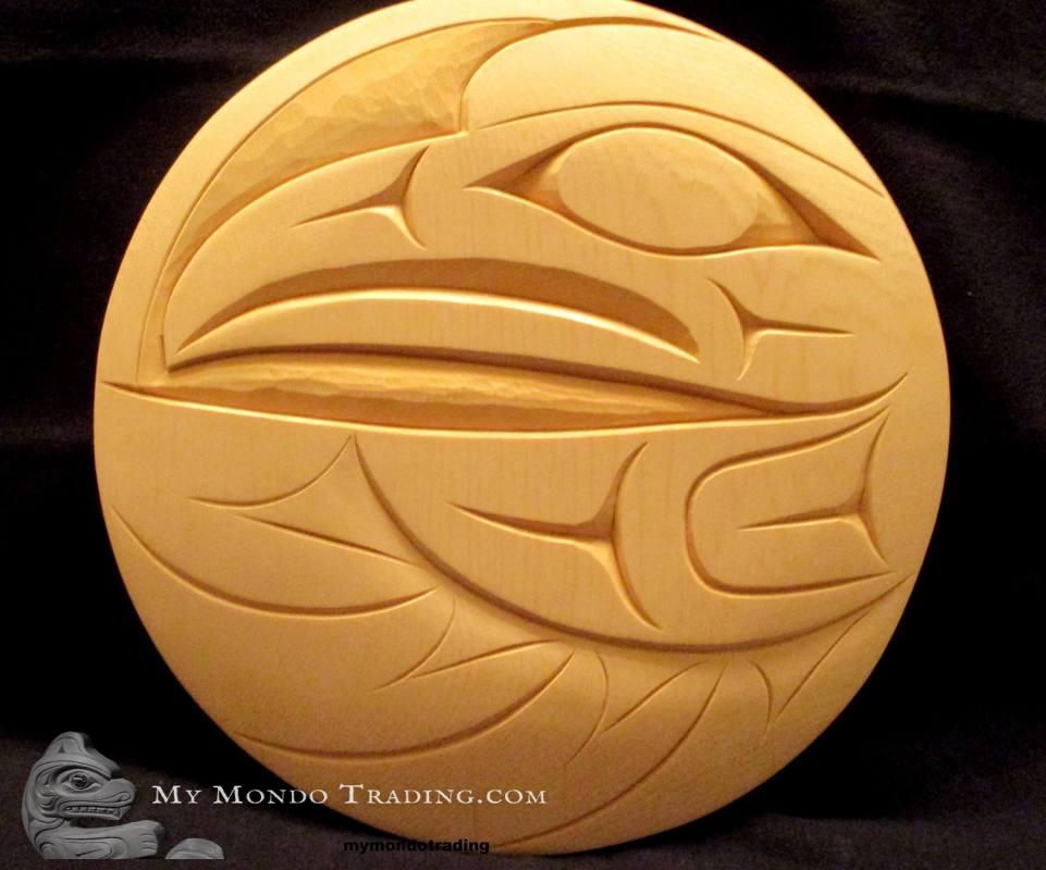 Raven, yellow cedar, Doug Horne