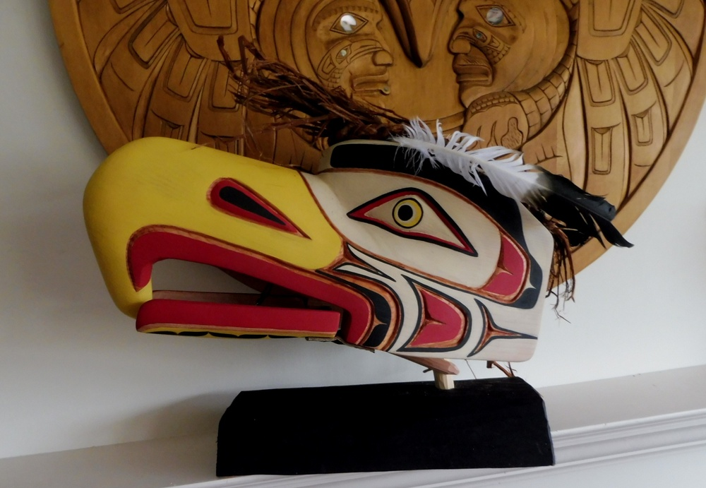 Large Eagle Headdress by Emil Thibert