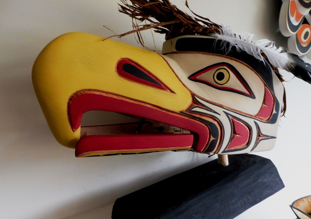 Large Eagle Headdress by Emil Thibert • My Mondo Trading ...