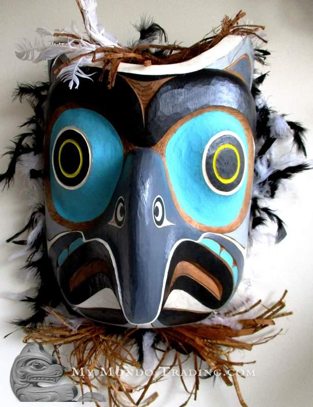 Large OWL Mask by Gilbert Dawson