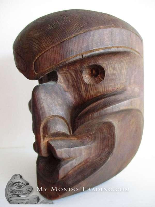 1962, Henry Hunt Sr., cedar Mask