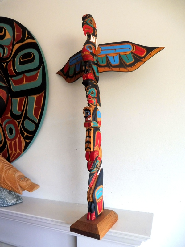 "Totem Pole, 31"" by Jimmy Joseph"