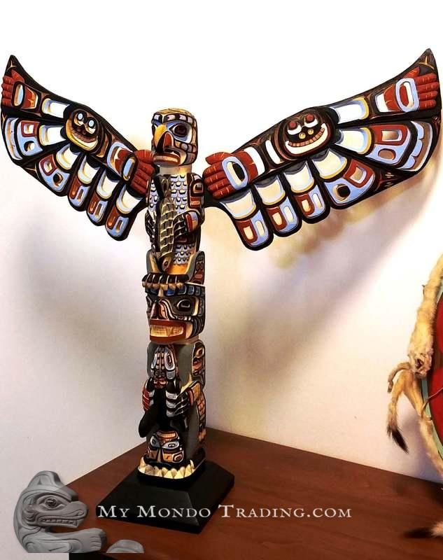 Spectacular Totem Pole by John Henry Hunt