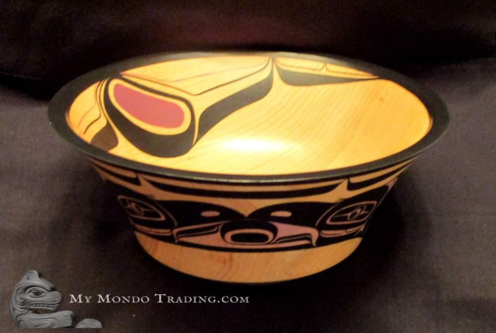 Raven Bowl by Harris Smith, Lalkawilas