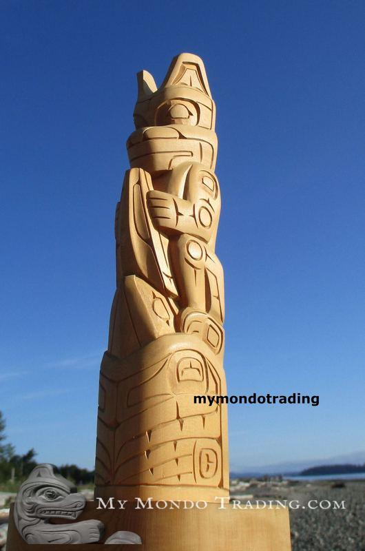 Model Totem Pole by Pat H. Earl