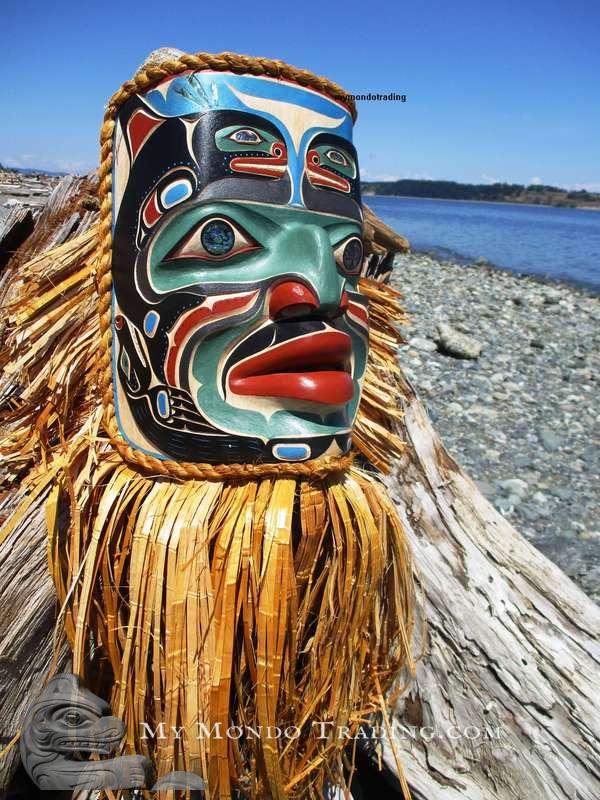 Komakwa Chief of the Sea Mask by Randy Stiglitz and Janice Morin