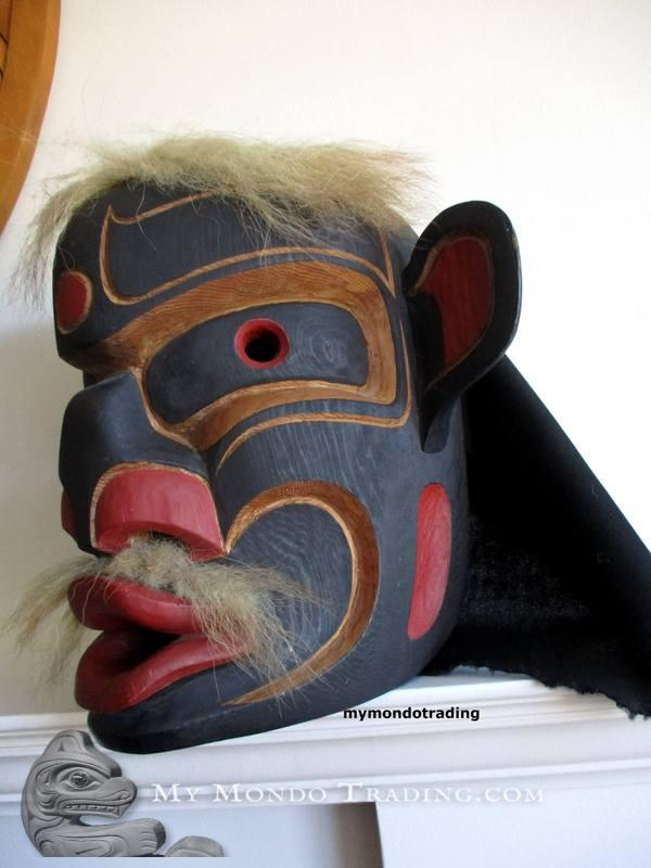 Vintage and danced, Mask, Sam Henderson