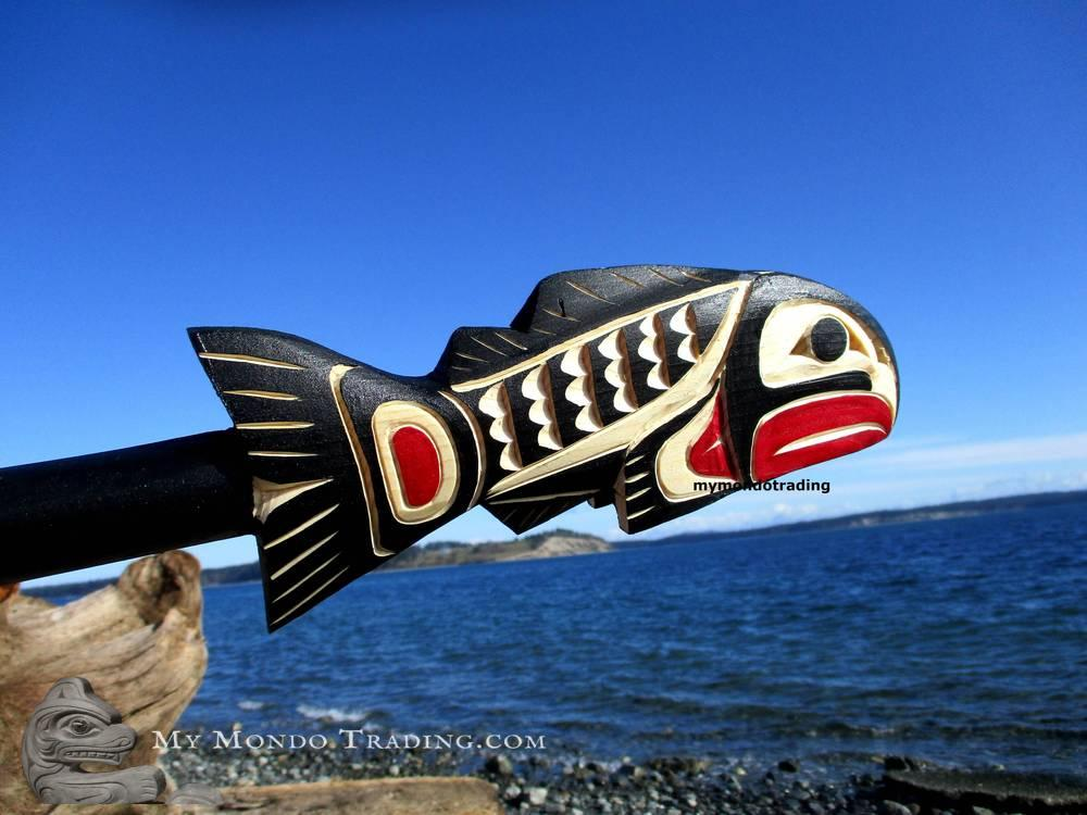Salmon Dance Rattle by Sarah Robertson