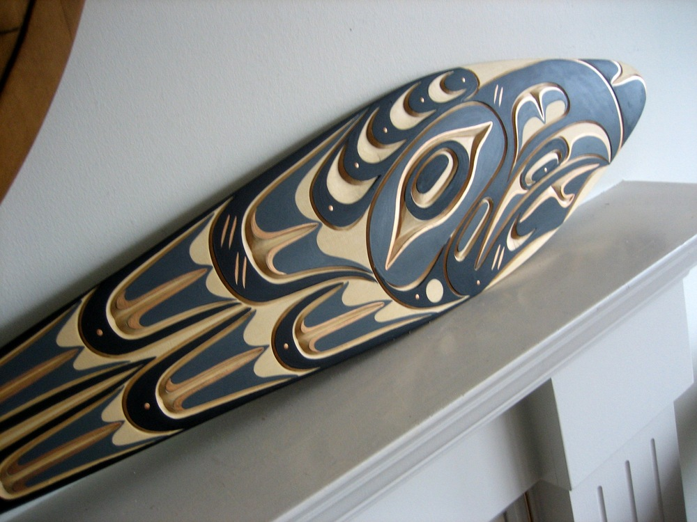 Incredible RAVEN Paddle by Tom Hunt Jr.