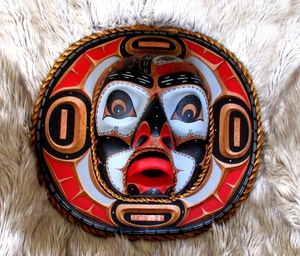 Salmon Moon Mask, David Mungo Knox