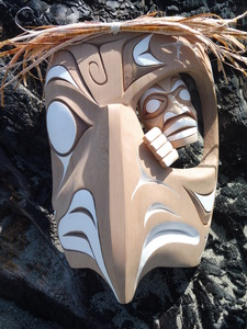 Eagle Spirit Mask by Doug (Bear) Horne