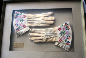 Tahltan First Nation Gauntlets, 1957, Telegraph Creek
