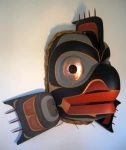 Codfish Mask by John Livingston