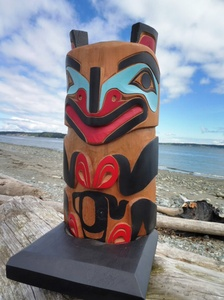 Mother Bear Totem by Rupert Jeffrey