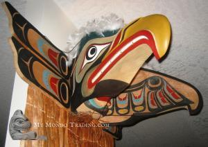 Eagle Transformation Mask by Sammy Dawson - Please contact me for details