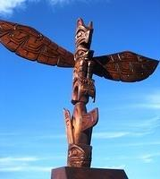 Totem Pole by Alfred Robertson