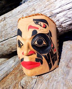Eagle Spirit Portrait Mask by Tom LaFortune