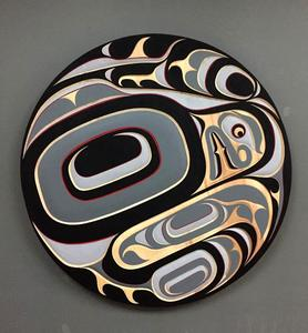 "Beautiful 36"" Eagle panel by Trevor Hunt"