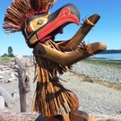 Eagle Dancer / Puppet by Alfred Robertson