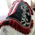 OLD beaded dog blanket (tuppie) - incredible piece