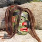 Bukwus Mask with horse hair, Don Svanvik