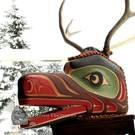 Large Deer Mask by David Mungo Knox
