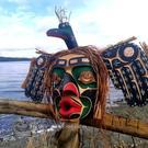 Loon Mask by Hereditary Chief David Mungo Knox