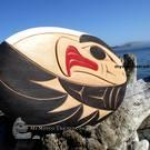 Eagle, cedar wall art by Doug Horne