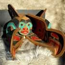Large, vintage Thunderbird Transformation Mask by Doug LaFortune