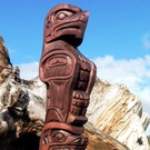 Eagle and Bear Totem Pole, Gino Seward