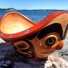 Haida Feast Bowl by Glen Rabena