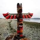 "Model Totem Pole, Nootka, 27"", Williams Family"