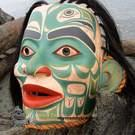Tlingit Young Noble Woman, Eagle clan Mask by Janice Morin